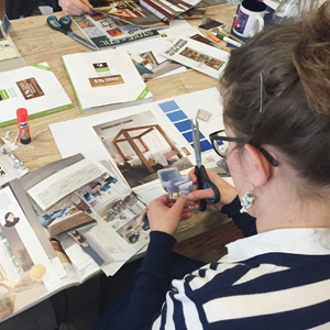 "Inhouse-Workshop ""Gestaltung Moodboards"""